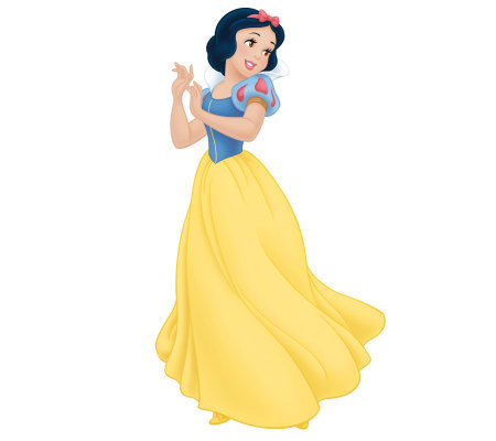 RoomMates Snow White Giant Peel & Stick Wall Decal