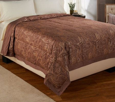 Northern Nights Amalfi Coast 300TC 550FP Reversible TW Down Blanket
