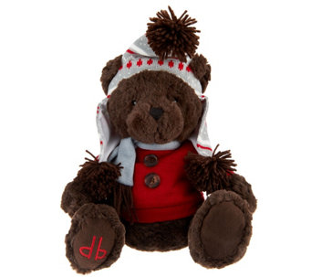 """As Is"" Dennis Basso Aspen Collection 12"" Teddy Bear - H210484"