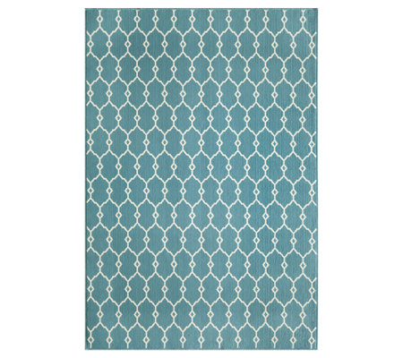 "Momeni Baja Trellis 6' 7"" x 9' 6"" Indoor/Outdoor Rug"