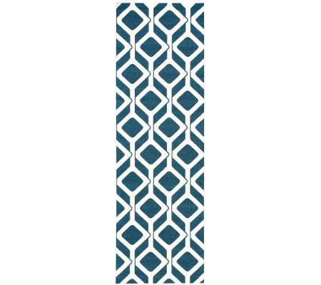 "Enhance Diamond 2'6"" x 8' Rug by Nourison"