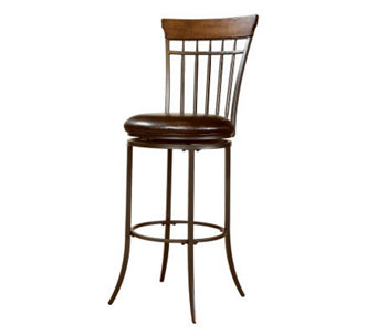 Hillsdale Furniture Cameron Swivel Spindle BarStool - H358884