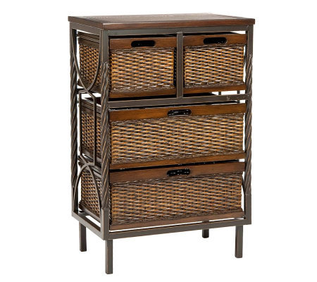 Safavieh Andrew Storage Unit - Four Drawers
