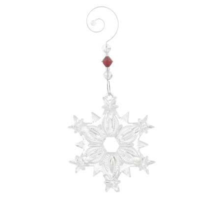 Waterford Crystal Snowflake Ornament