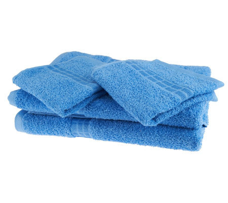 Color Remedy Endless Color Bleach Friendly 4-Piece Cotton Towel Set