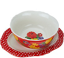 Pioneer Woman Serving Platter and Bowl Set - H208485