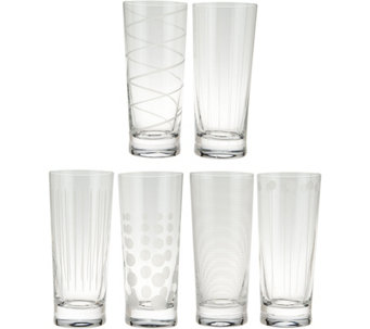 Cheers Set of 6 Highball Glasses by Mikasa - H209985