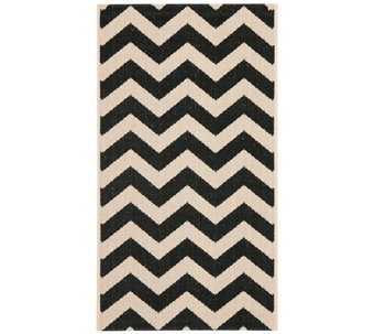 "Safavieh 4' x 5'7"" Horizontal Zigzag Indoor/Outdoor Rug - H283085"