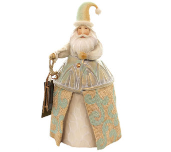 Jim Shore River's End Santa with Skates Figurine - H287785