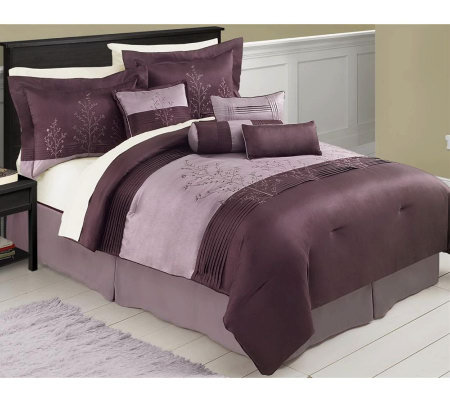 Mia 8 Piece Queen Bedding Set