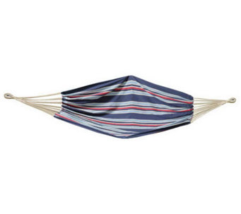 Bliss Hammocks Extra-Wide Hammock with Carry Bag - Stripes - H363585