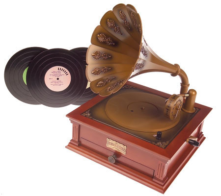 Mr Christmas Musical Holiday Gramophone With 48 Songs
