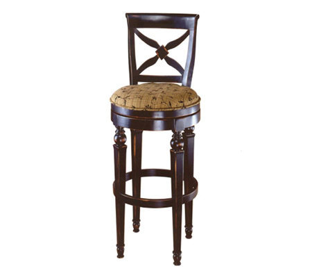 Hillsdale House Normandy Swivel Bar Stool Page 1 Qvc Com
