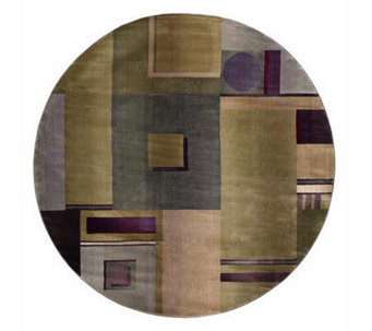 Sphinx Contempo 6' x 6' Round Rug by Oriental Weavers - H126986