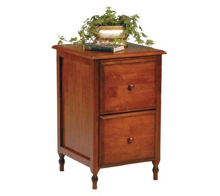 Knob Hill Collection File Cabinet by Office Star - Page 1 — QVC.com