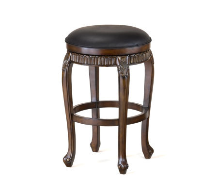 Hillsdale Furniture Fleur-de-Lis Backless Swivel Bar Stool
