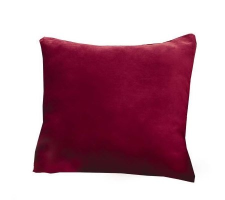 Qvc Decorative Pillows : Sure Fit Soft Sueded 18