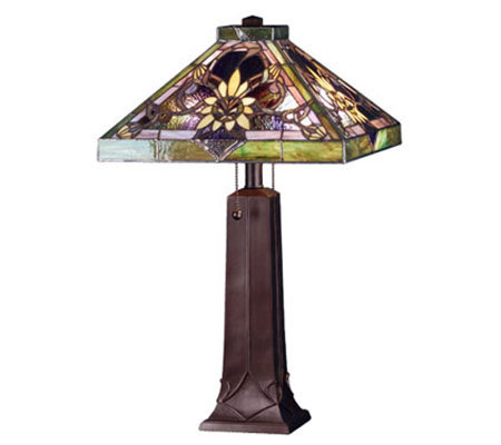 "Tiffany Style 22""H Solstice Table Lamp"