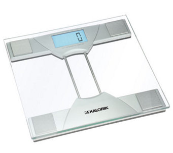 Kalorik Electronic Bathroom Scale with LCD Screen - H185986