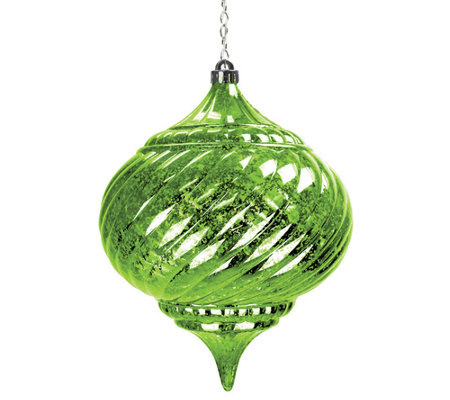 Exhart Solar Large Onion Ornament