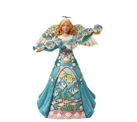 Jim Shore Heartwood Creek Marine Angel Figurine