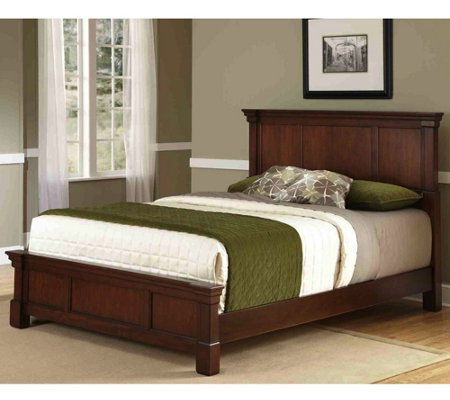 Home Styles Aspen Queen Bed Set