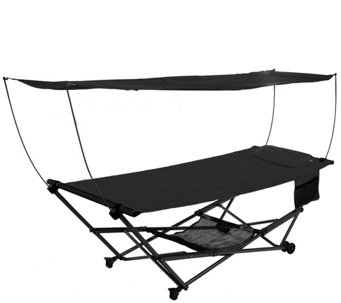 Medium image of bliss hammocks stow ez hammock with canopy andstorage bag   h291286