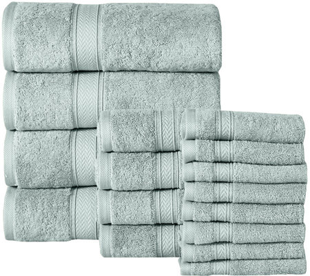 16-Piece Cotton Towel Set