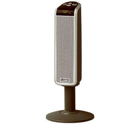 "Lasko Products 30"" Digital Ceramic Pedestal Heater w/ Remote"