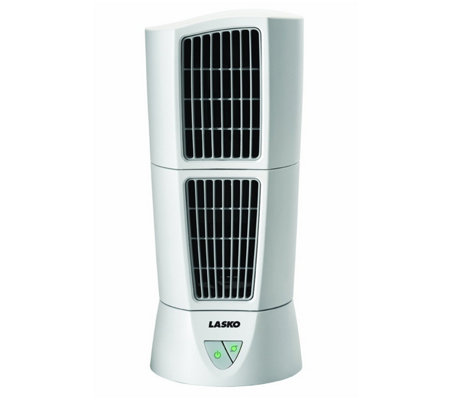 Lasko White Desktop Wind Tower Fan