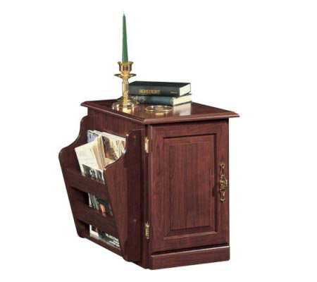 Sauder Heritage Hill Collection Magazine Rack Table