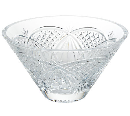 "Waterford Crystal 10"" O'Mara Bowl"