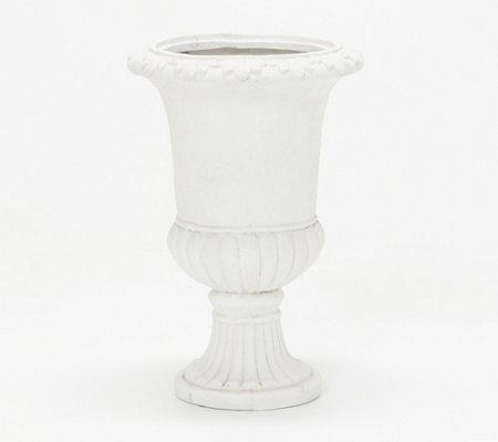 Indoor/Outdoor Decorative Footed Urn by Valerie