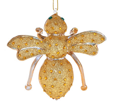 """As Is"" Joan Rivers 25th Anniversary Bee Ornament"