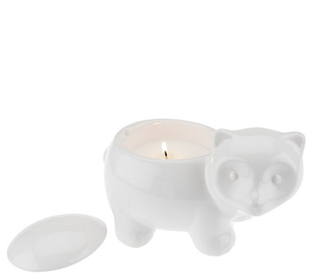 """As Is"" ED On Air 5.5oz Filled Animal Figural Candle Ellen DeGeneres"
