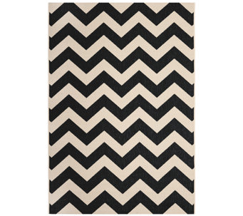 "Safavieh 5'3"" x 7'7"" Horizontal Zigzag Indoor/Outdoor Rug - H283087"