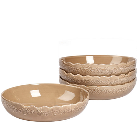 "Tabletops Gallery 8.25"" Soup Bowl - 4 Pack"