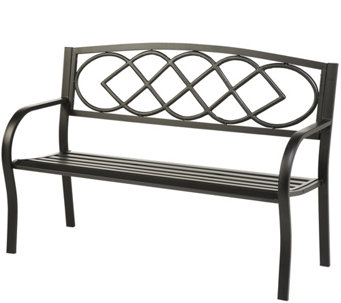 Plow & Hearth Celtic Knot Bench - H289387