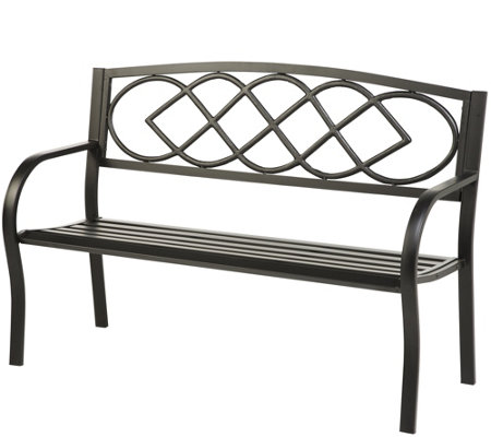 Plow & Hearth Celtic Knot Bench