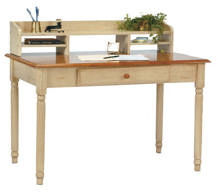 country cottage solid wood desk by office star page 1