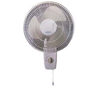 "Lasko 16"" Oscillating Wall-Mount Fan - H149088"