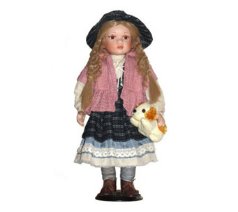 Copa Judaica Ellis Island Collection PorcelainDoll - Rachel - H155788