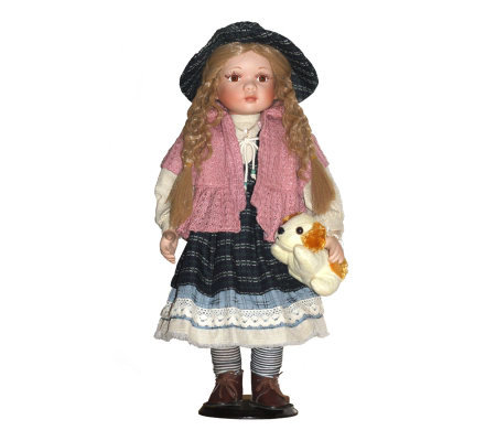 Copa Judaica Ellis Island Collection PorcelainDoll - Rachel