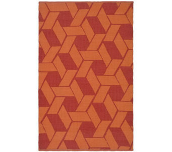 Thom Filicia 4' x 6' Danforth Recycled PlasticOutdoor Rug - H186488