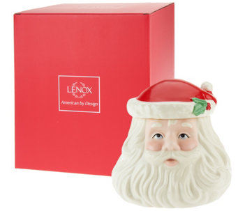 Lenox Limited Edition Porcelain Figural Cookie Jar w/Gift Box - H205388