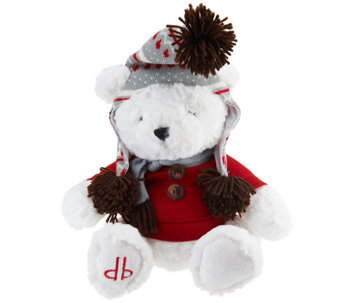 "Dennis Basso Aspen Collection 12"" Teddy Bear - H205788"