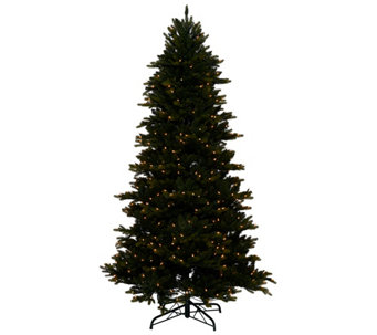 """As Is"" Bethlehem Lights 7.5' Noble Spruce Tree Swift Lock - H208188"