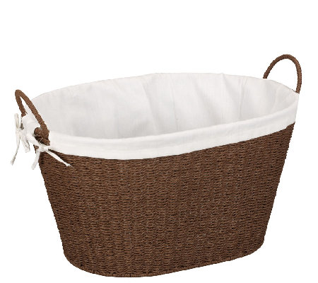 Household Essentials Paper Rope Laundry Hamper