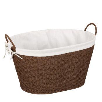 Household Essentials Paper Rope Laundry Hamper