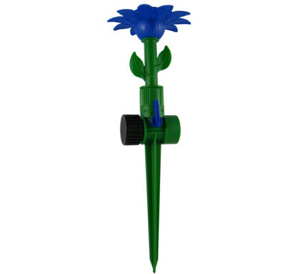 ColourWave Rotating Flower Spike Sprinkler